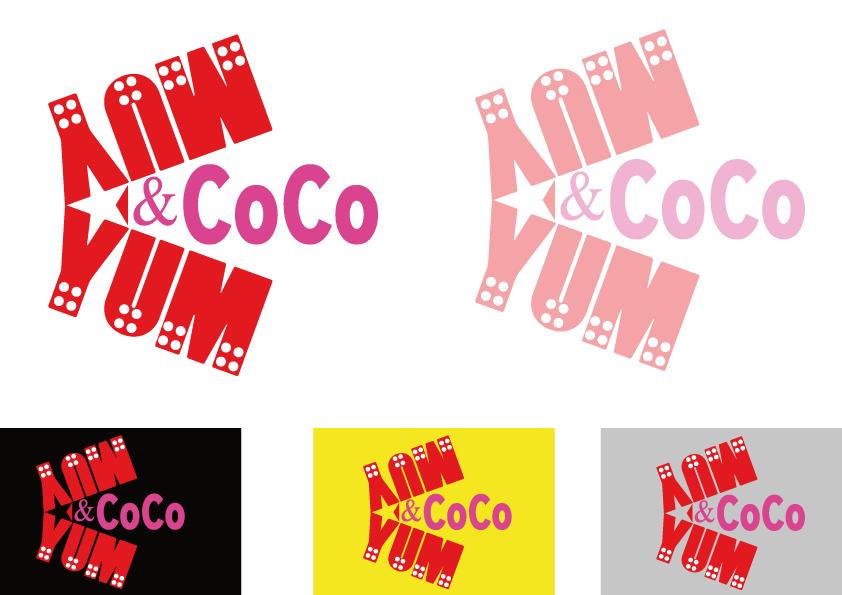 Logo Design by Kenan çete - Entry No. 21 in the Logo Design Contest Logo Design for YumYum & CoCo.