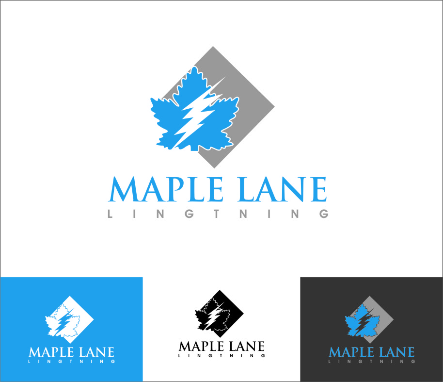 Logo Design by Ngepet_art - Entry No. 11 in the Logo Design Contest Maple Lane Logo Design.