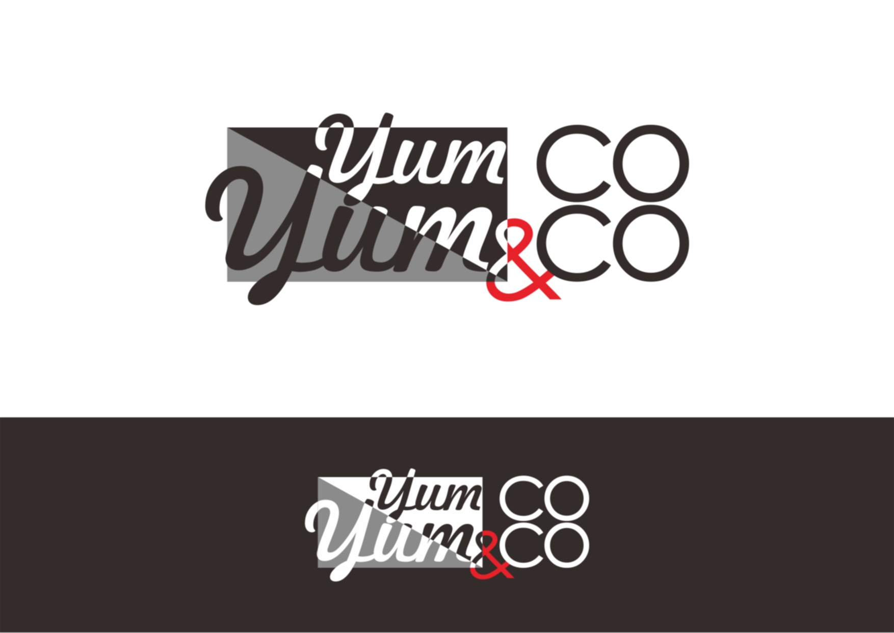 Logo Design by Private User - Entry No. 36 in the Logo Design Contest Logo Design for YumYum & CoCo.