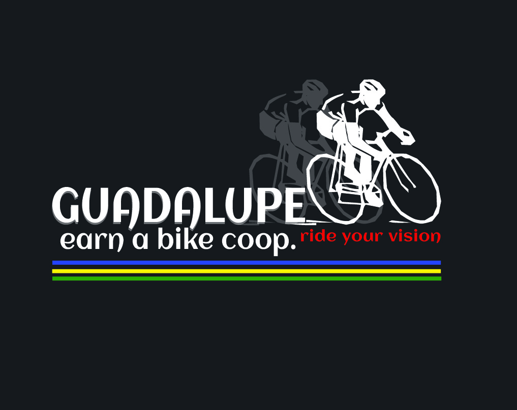 Logo Design by lde05 - Entry No. 51 in the Logo Design Contest Inspiring Logo Design for Guadalupe Earn a Bike Coop..