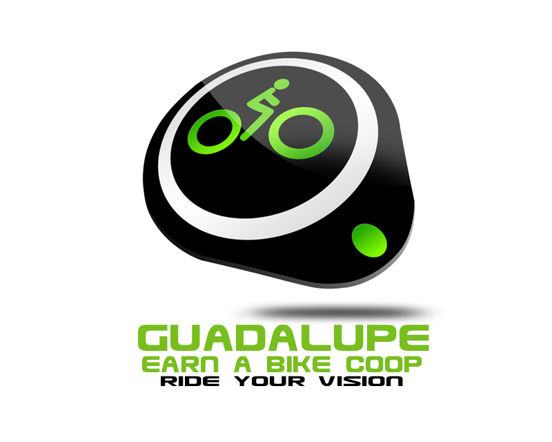 Logo Design by SPARX NEW - Entry No. 52 in the Logo Design Contest Inspiring Logo Design for Guadalupe Earn a Bike Coop..