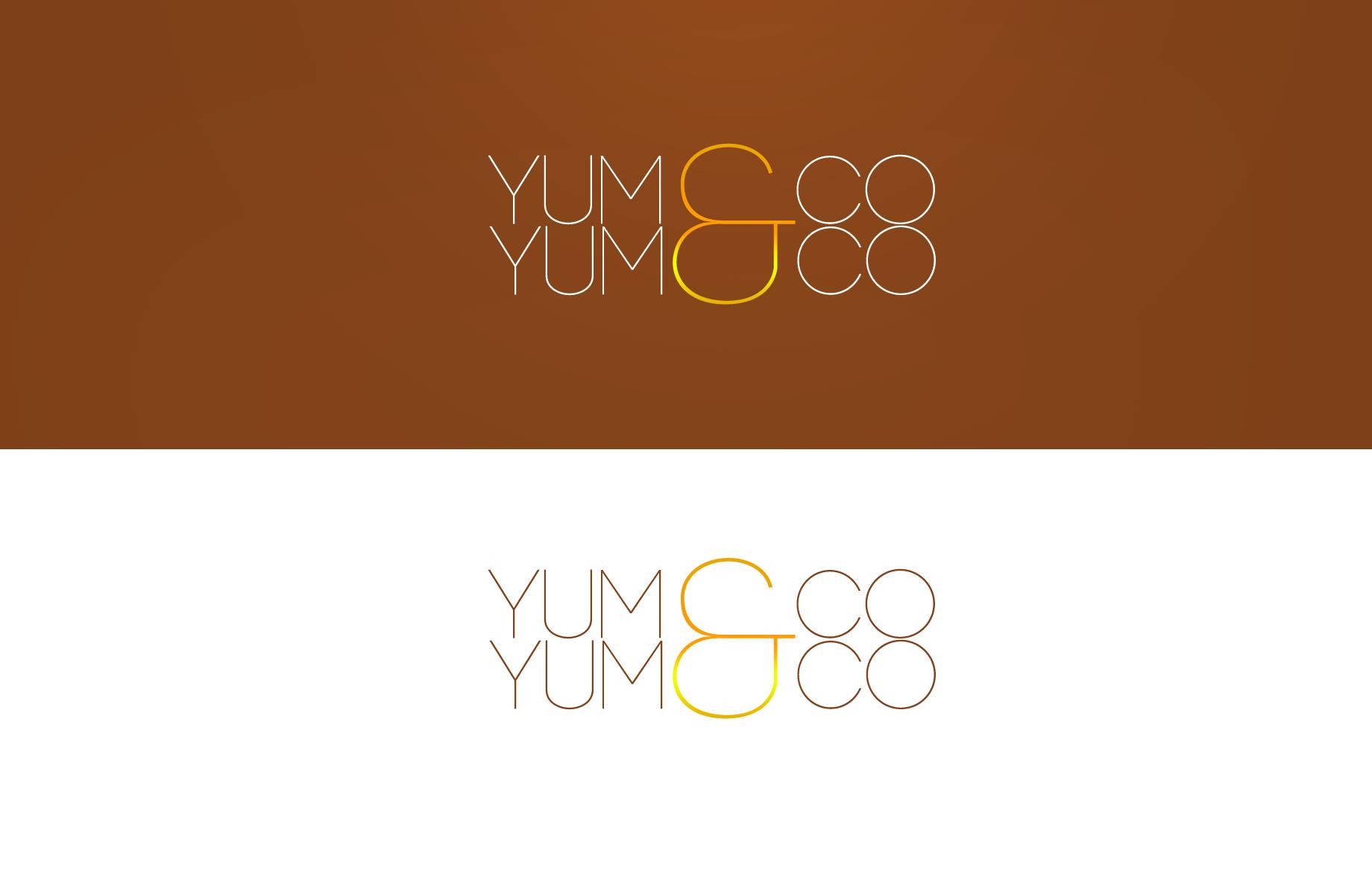 Logo Design by Jan Chua - Entry No. 38 in the Logo Design Contest Logo Design for YumYum & CoCo.