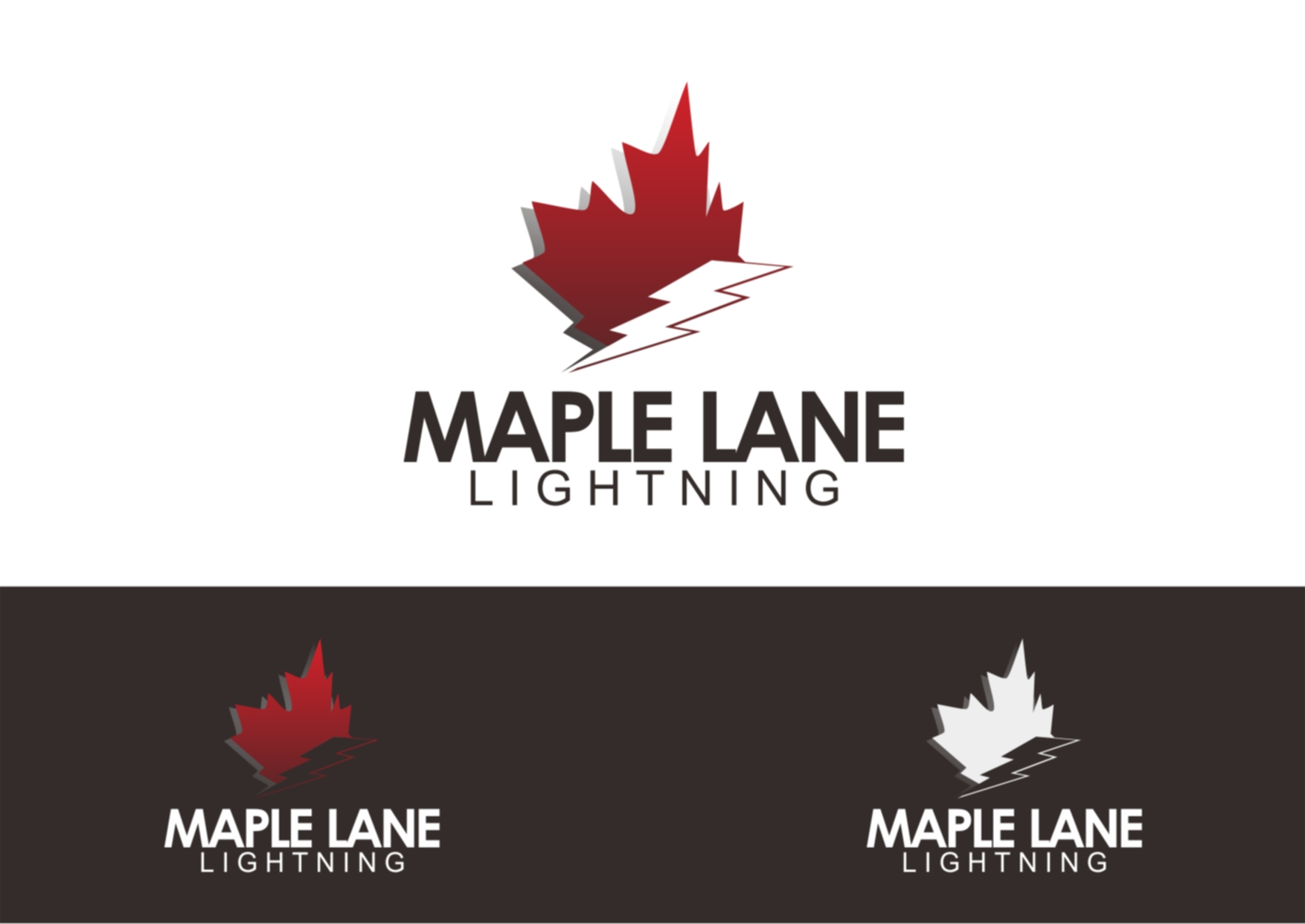 Logo Design by Private User - Entry No. 14 in the Logo Design Contest Maple Lane Logo Design.