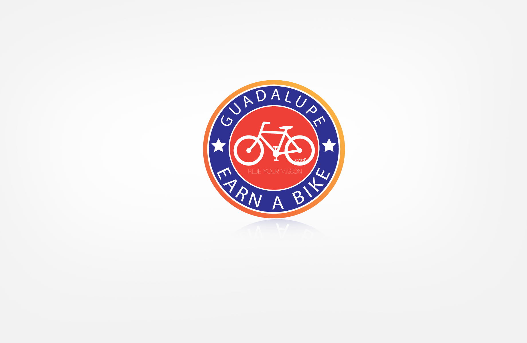 Logo Design by Jan Chua - Entry No. 53 in the Logo Design Contest Inspiring Logo Design for Guadalupe Earn a Bike Coop..