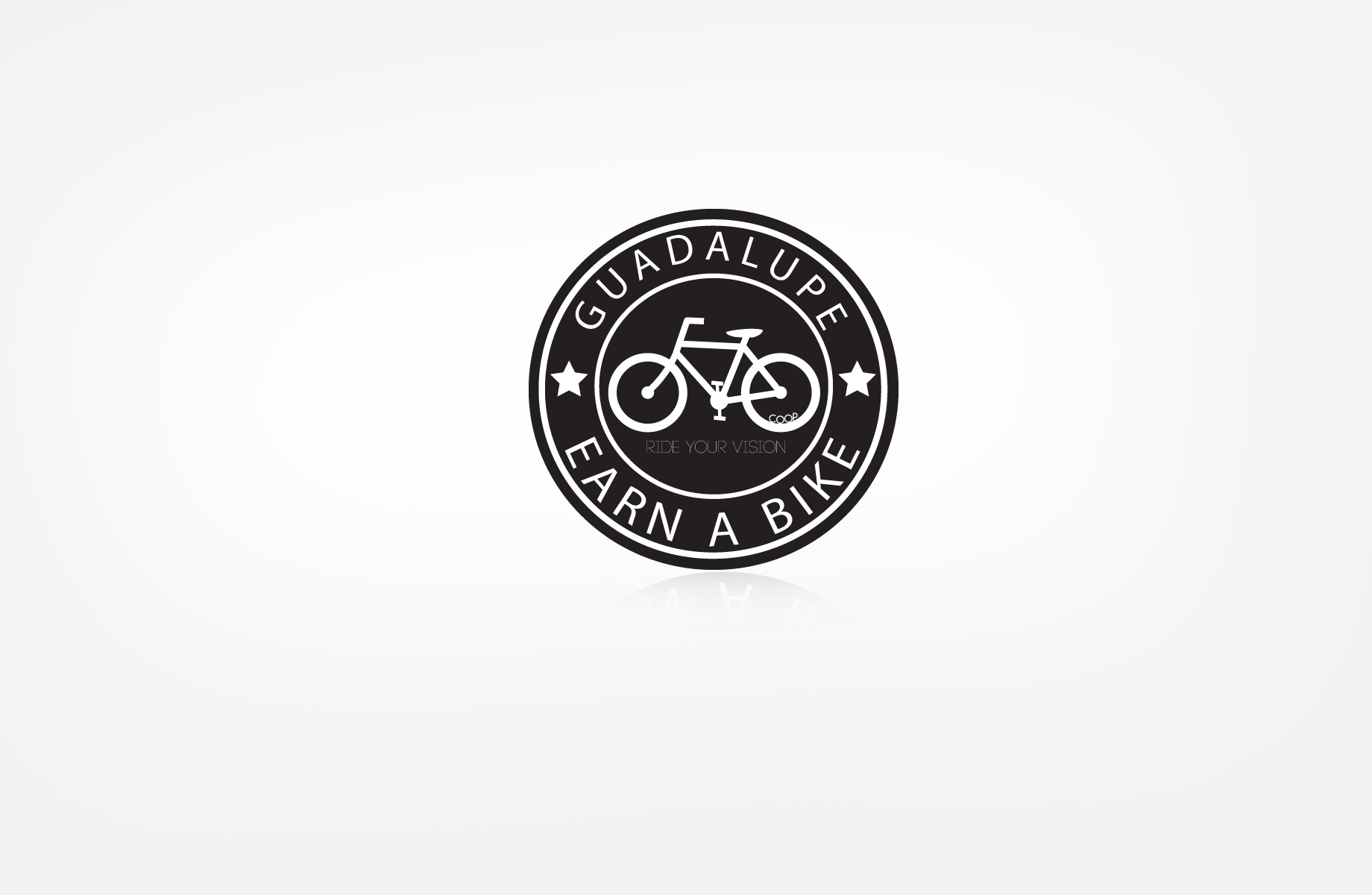 Logo Design by Jan Chua - Entry No. 54 in the Logo Design Contest Inspiring Logo Design for Guadalupe Earn a Bike Coop..