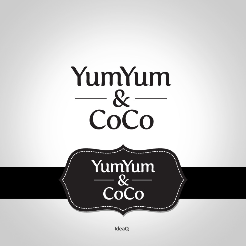 Logo Design by Private User - Entry No. 44 in the Logo Design Contest Logo Design for YumYum & CoCo.