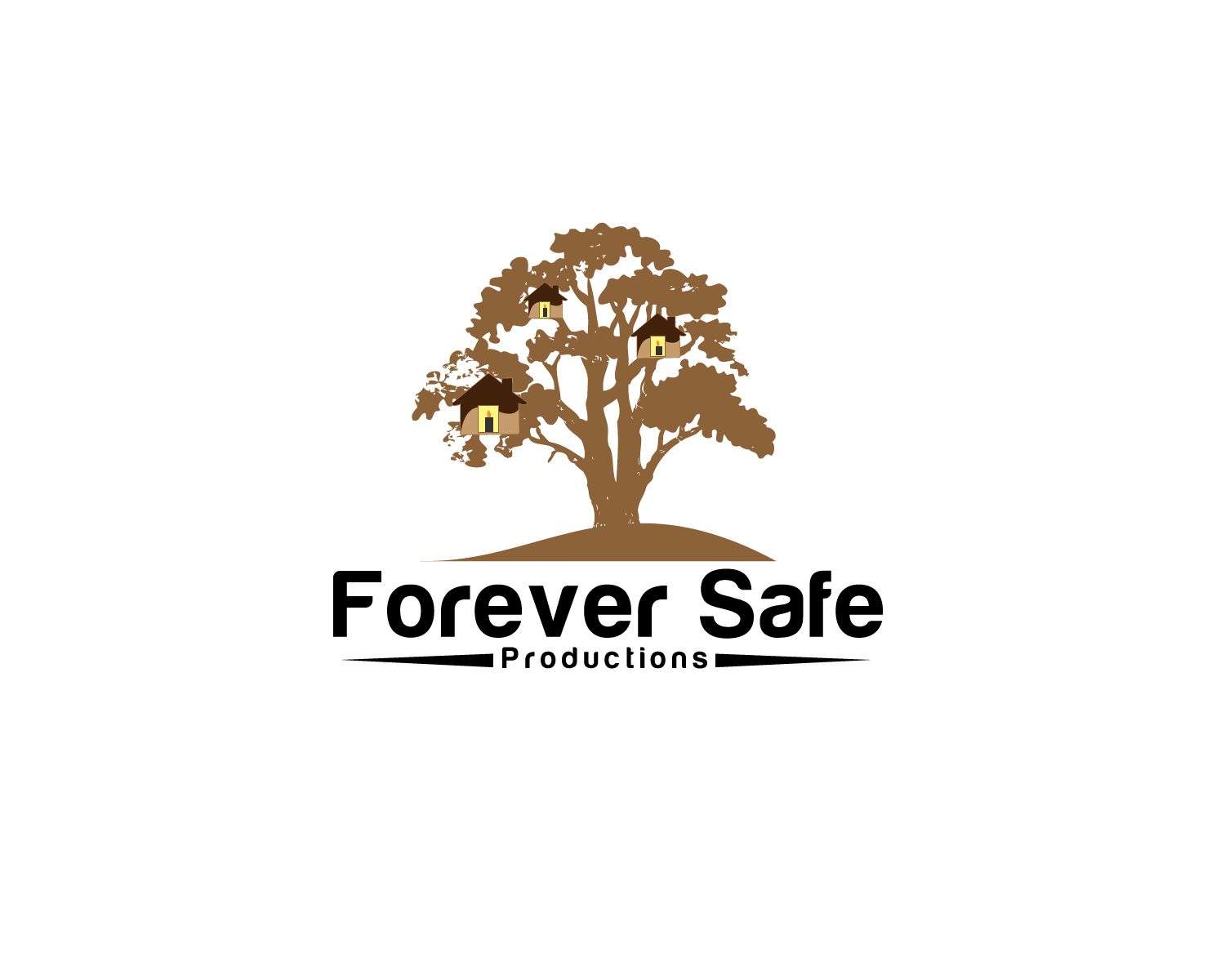 Logo Design by Jagdeep Singh - Entry No. 22 in the Logo Design Contest Inspiring Logo Design for Forever Safe Productions.
