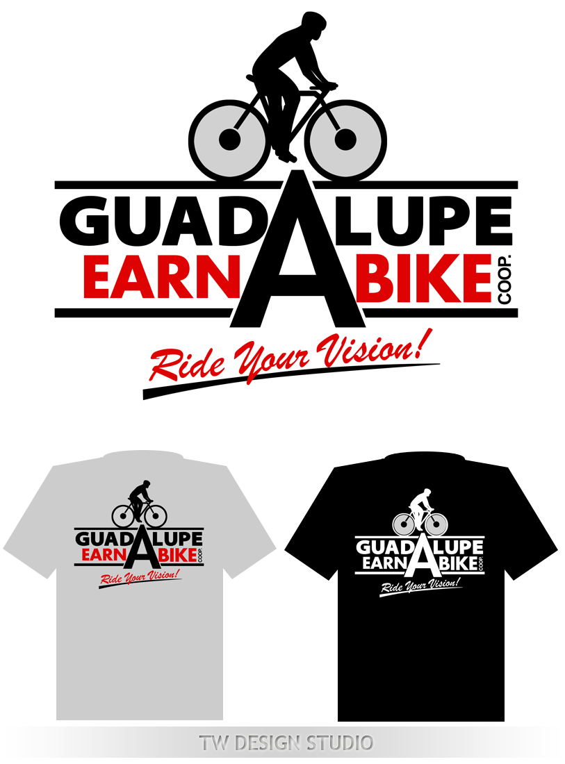Logo Design by Private User - Entry No. 57 in the Logo Design Contest Inspiring Logo Design for Guadalupe Earn a Bike Coop..