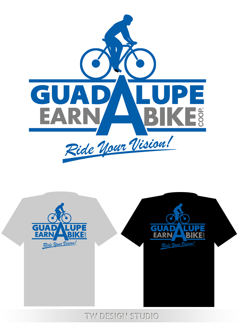 Logo Design by Private User - Entry No. 59 in the Logo Design Contest Inspiring Logo Design for Guadalupe Earn a Bike Coop..