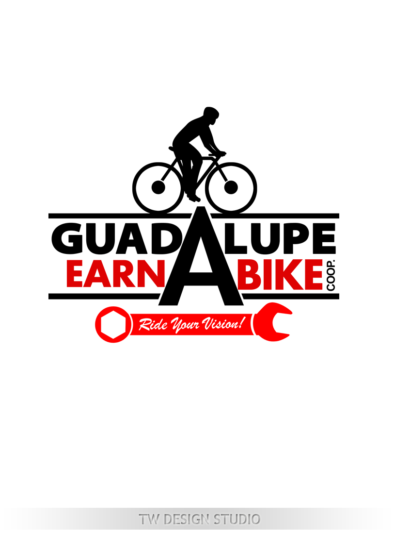 Logo Design by Private User - Entry No. 61 in the Logo Design Contest Inspiring Logo Design for Guadalupe Earn a Bike Coop..