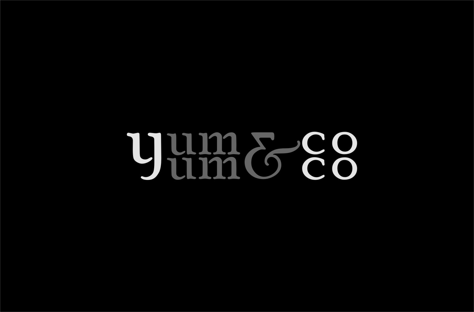 Logo Design by RoSyid Rono-Rene On Java - Entry No. 59 in the Logo Design Contest Logo Design for YumYum & CoCo.