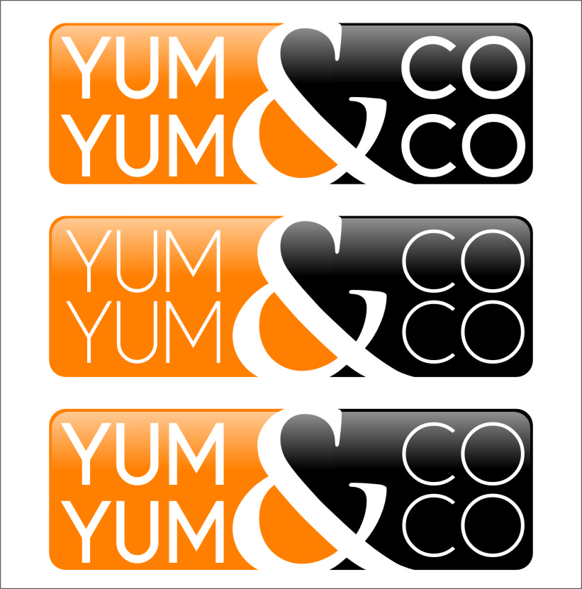 Logo Design by RoSyid Rono-Rene On Java - Entry No. 61 in the Logo Design Contest Logo Design for YumYum & CoCo.