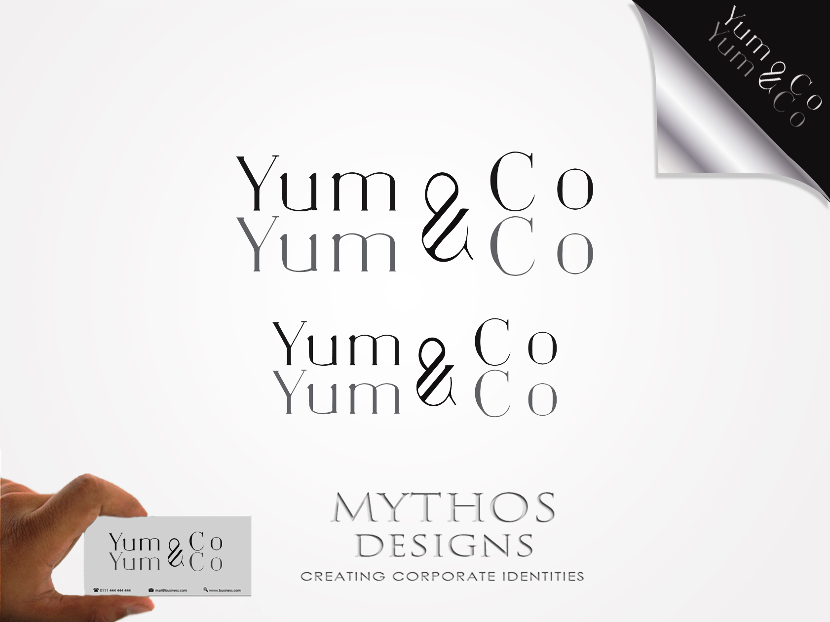 Logo Design by Mythos Designs - Entry No. 62 in the Logo Design Contest Logo Design for YumYum & CoCo.