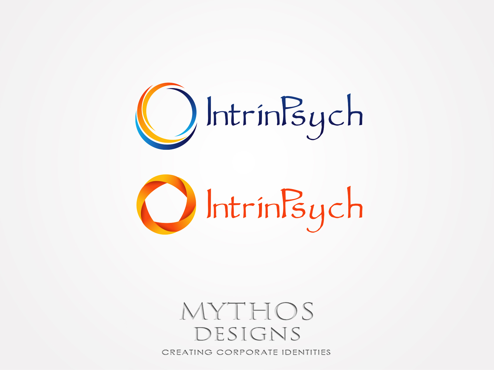 Logo Design by Mythos Designs - Entry No. 75 in the Logo Design Contest New Logo Design for IntrinPsych.