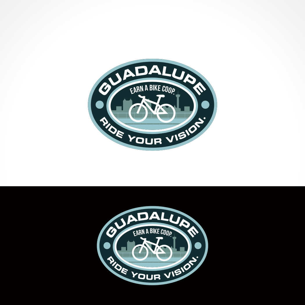 Logo Design by Private User - Entry No. 71 in the Logo Design Contest Inspiring Logo Design for Guadalupe Earn a Bike Coop..