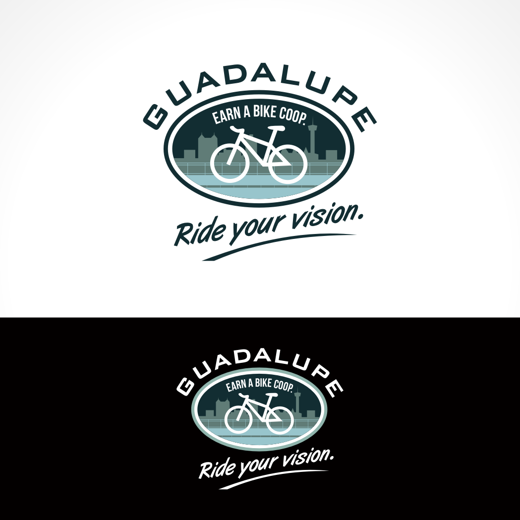 Logo Design by Private User - Entry No. 72 in the Logo Design Contest Inspiring Logo Design for Guadalupe Earn a Bike Coop..
