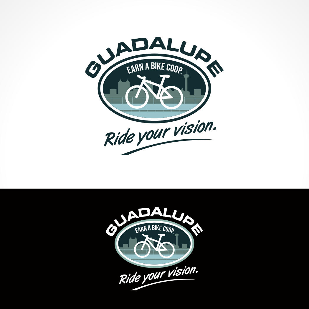 Logo Design by Private User - Entry No. 73 in the Logo Design Contest Inspiring Logo Design for Guadalupe Earn a Bike Coop..