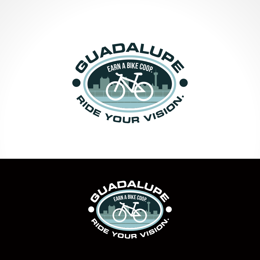 Logo Design by Private User - Entry No. 74 in the Logo Design Contest Inspiring Logo Design for Guadalupe Earn a Bike Coop..
