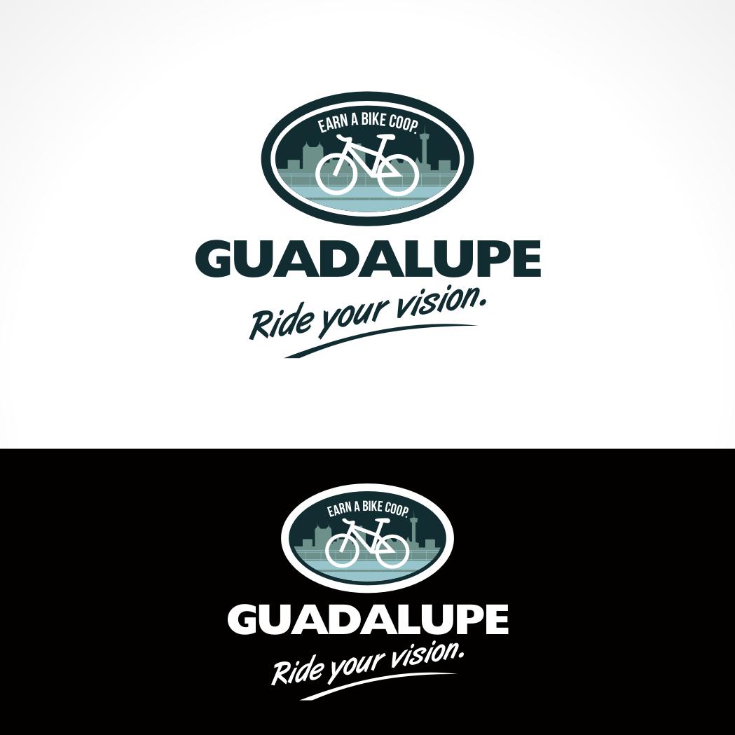 Logo Design by Private User - Entry No. 75 in the Logo Design Contest Inspiring Logo Design for Guadalupe Earn a Bike Coop..