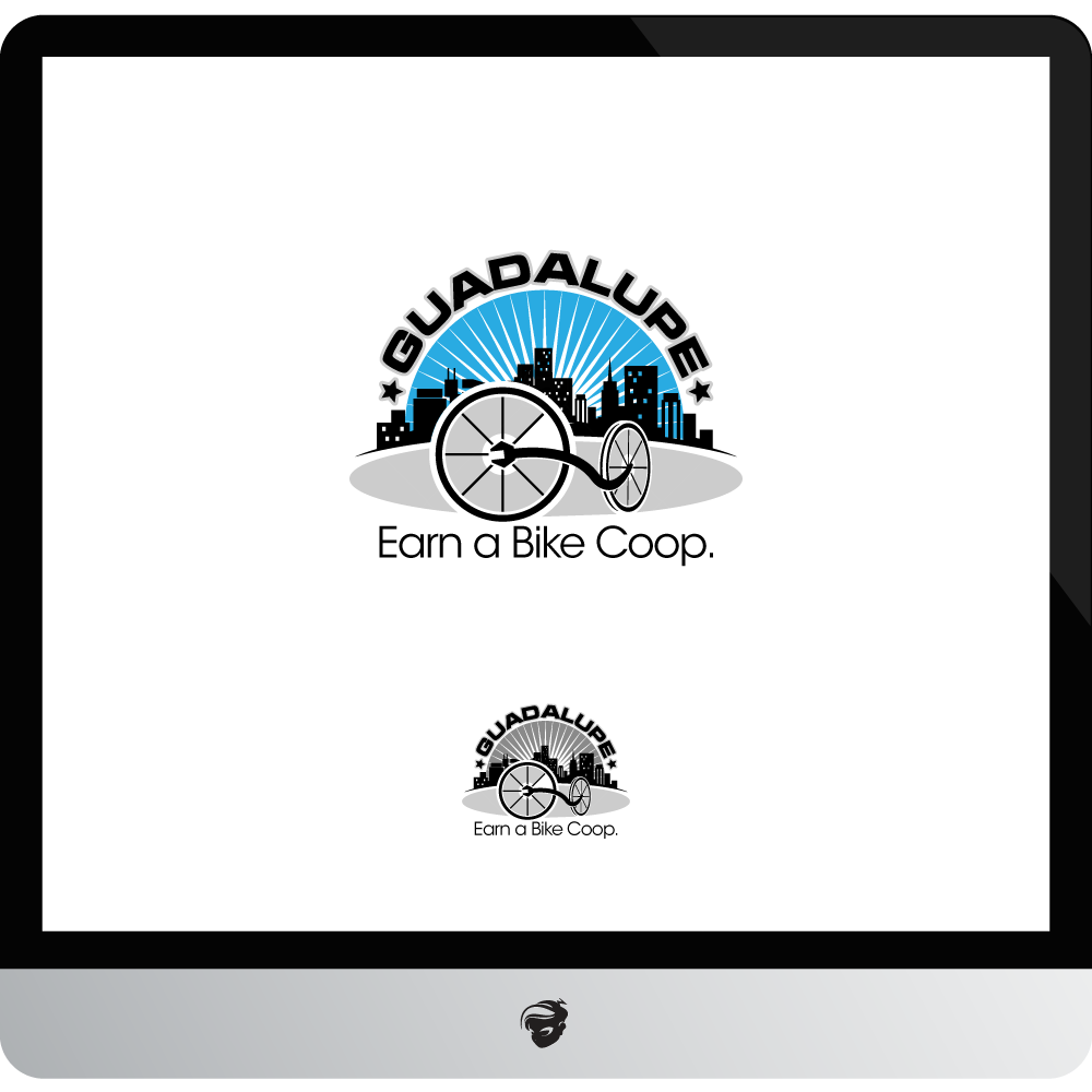 Logo Design by zesthar - Entry No. 77 in the Logo Design Contest Inspiring Logo Design for Guadalupe Earn a Bike Coop..