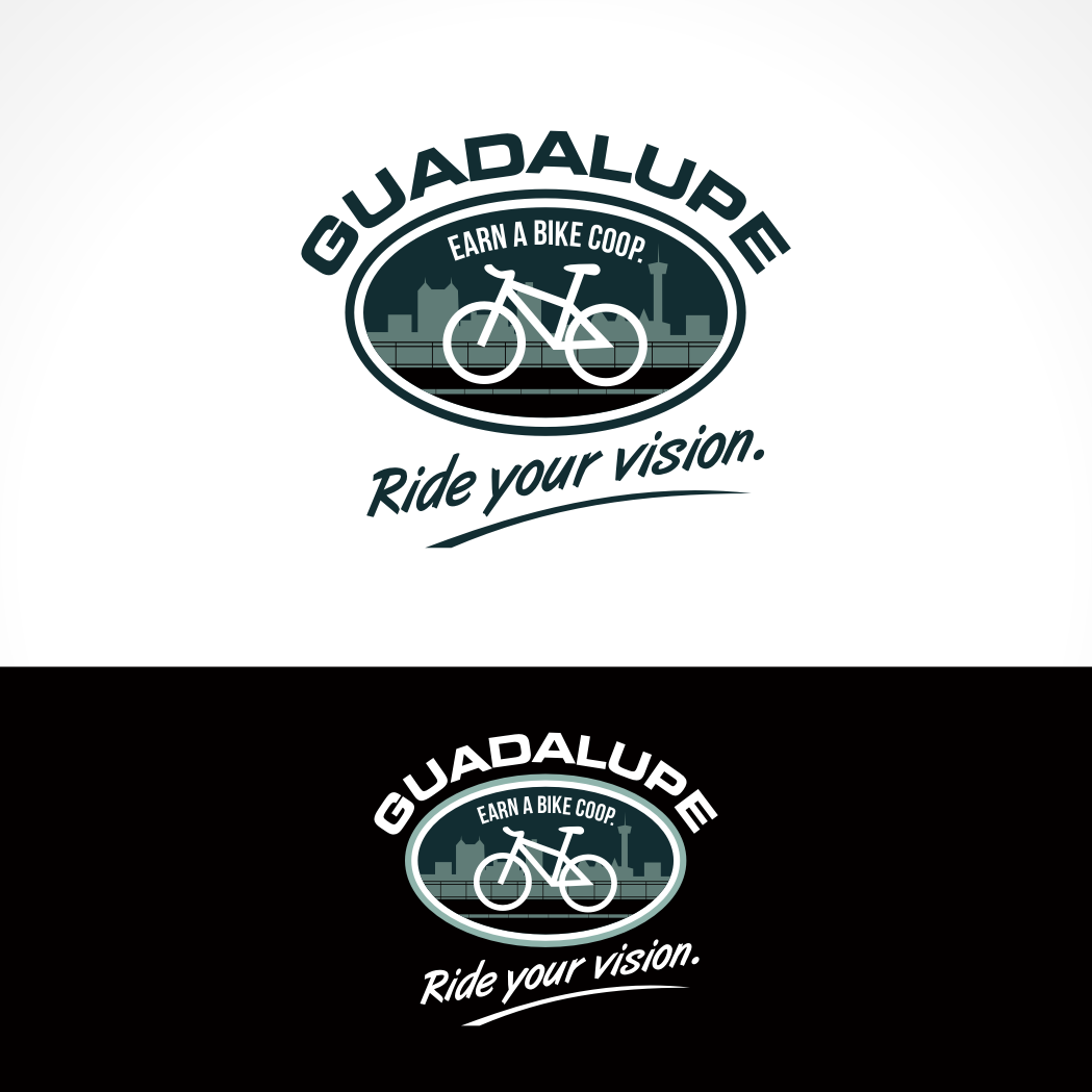 Logo Design by Private User - Entry No. 78 in the Logo Design Contest Inspiring Logo Design for Guadalupe Earn a Bike Coop..
