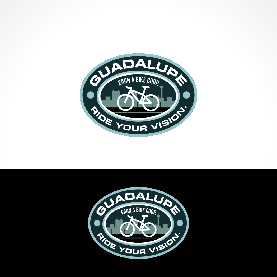 Logo Design by Private User - Entry No. 79 in the Logo Design Contest Inspiring Logo Design for Guadalupe Earn a Bike Coop..