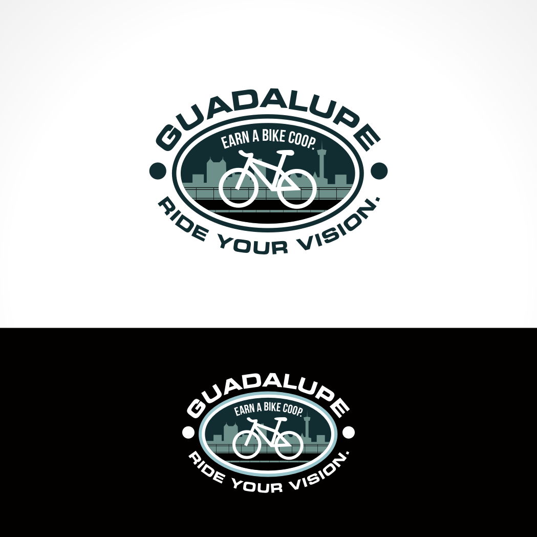 Logo Design by Private User - Entry No. 80 in the Logo Design Contest Inspiring Logo Design for Guadalupe Earn a Bike Coop..