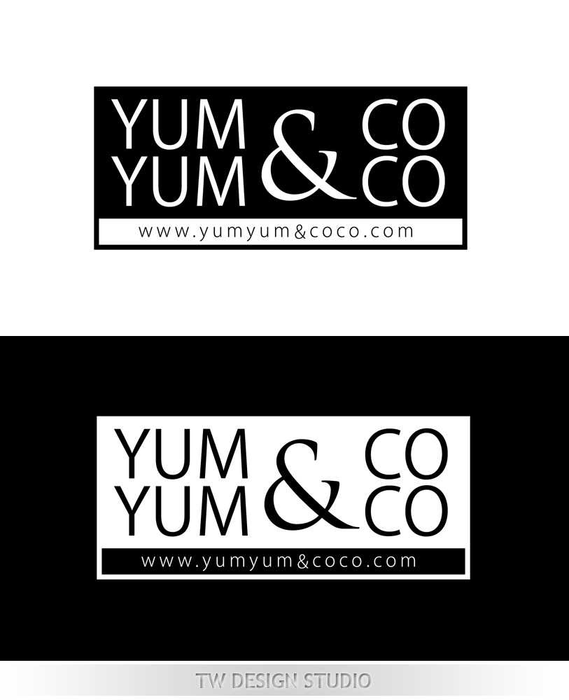 Logo Design by Private User - Entry No. 70 in the Logo Design Contest Logo Design for YumYum & CoCo.
