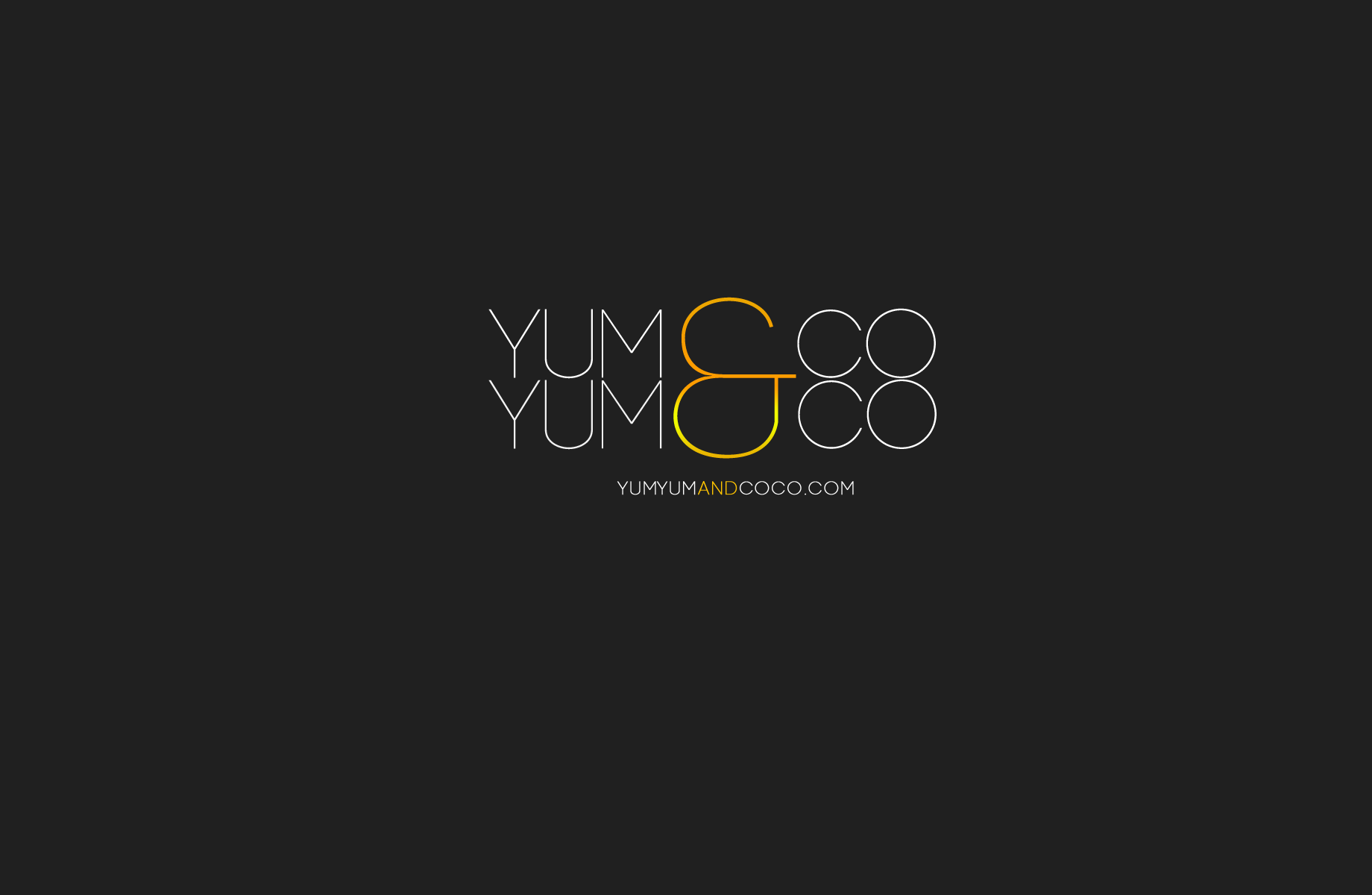 Logo Design by Jan Chua - Entry No. 75 in the Logo Design Contest Logo Design for YumYum & CoCo.