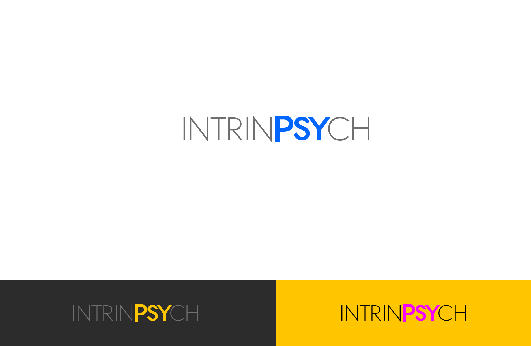Logo Design by Jan Chua - Entry No. 94 in the Logo Design Contest New Logo Design for IntrinPsych.