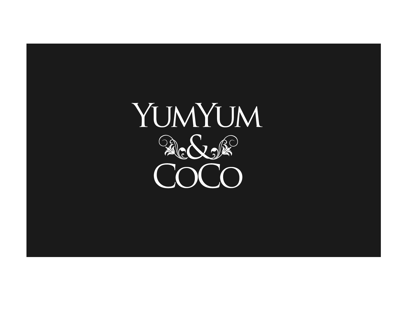 Logo Design by Jagdeep Singh - Entry No. 78 in the Logo Design Contest Logo Design for YumYum & CoCo.