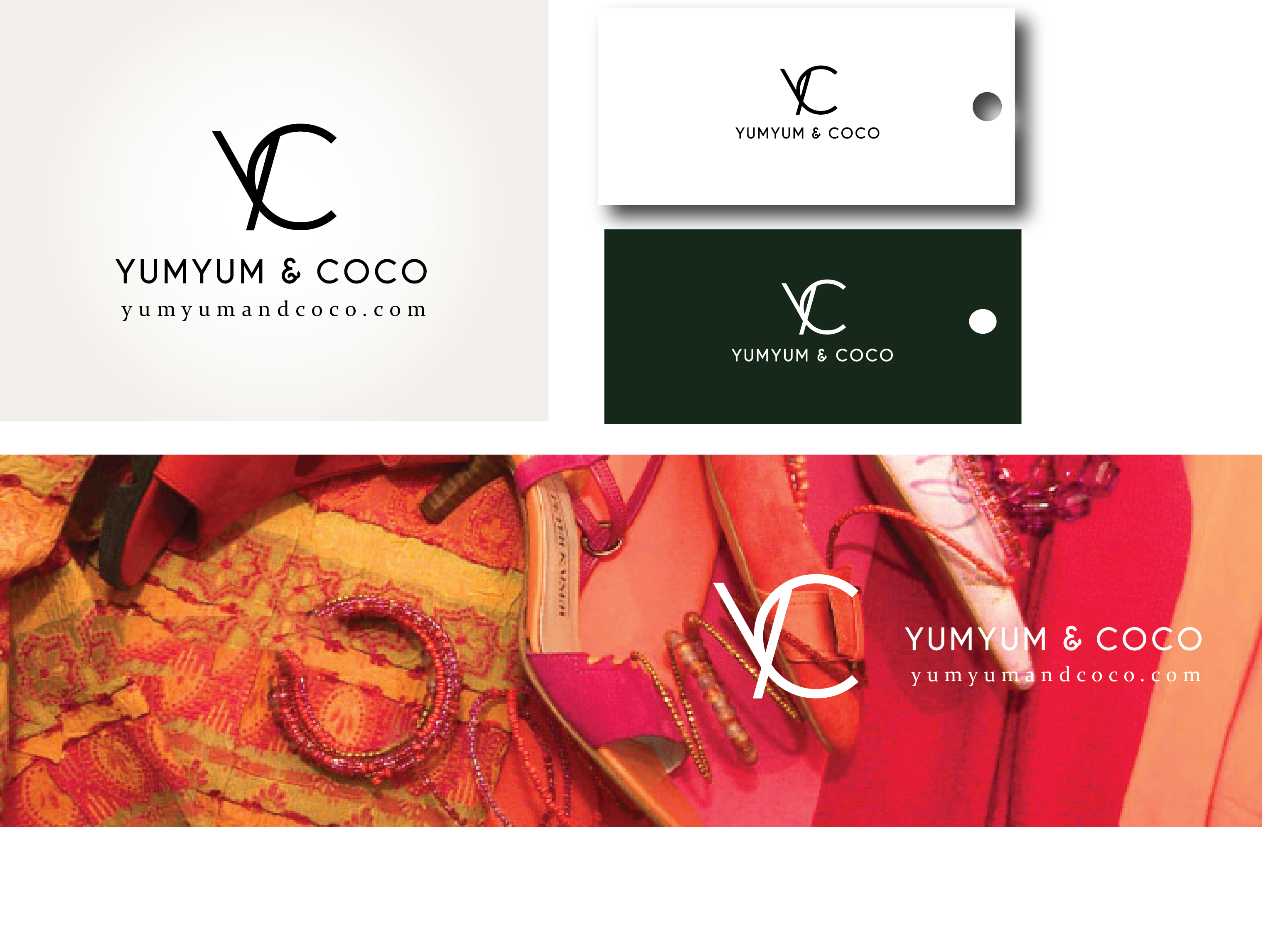 Logo Design by Son Graphics - Entry No. 80 in the Logo Design Contest Logo Design for YumYum & CoCo.