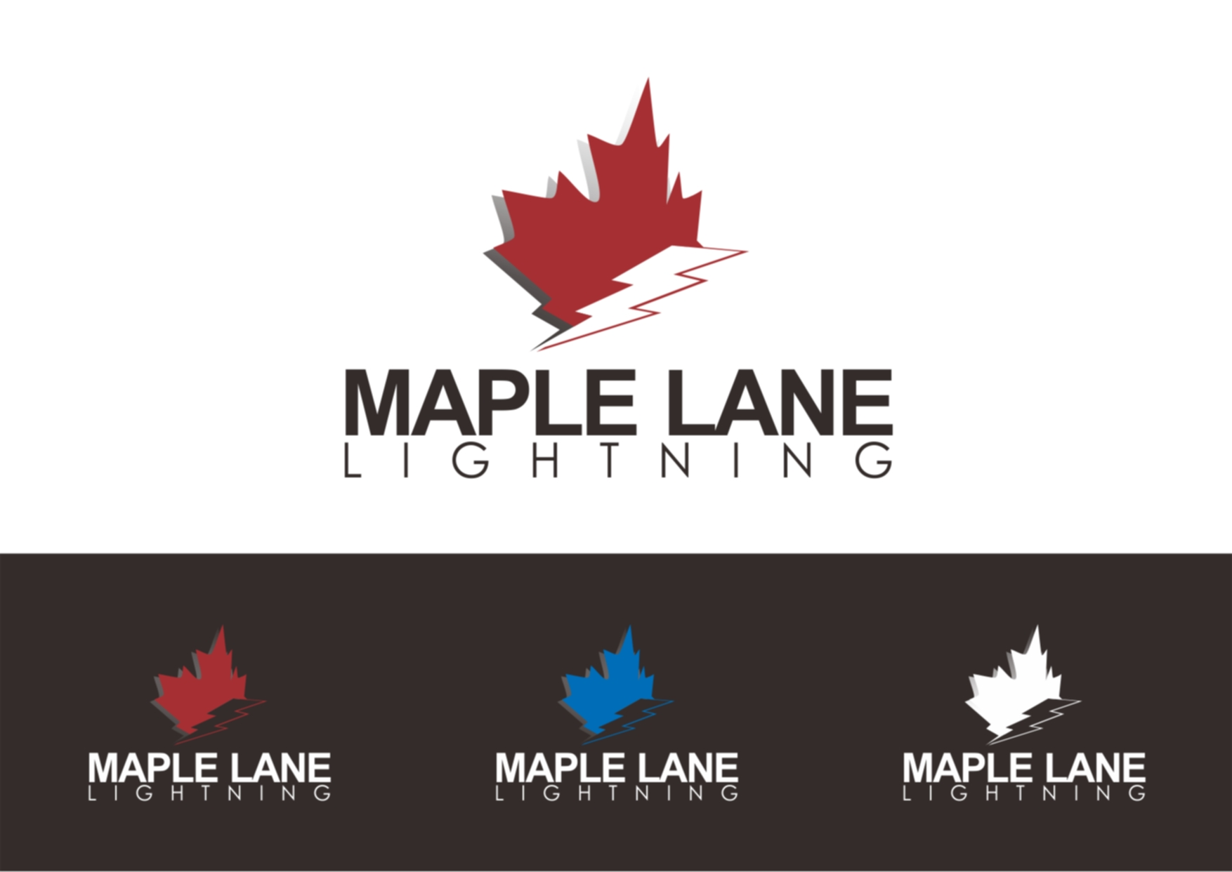 Logo Design by Private User - Entry No. 44 in the Logo Design Contest Maple Lane Logo Design.