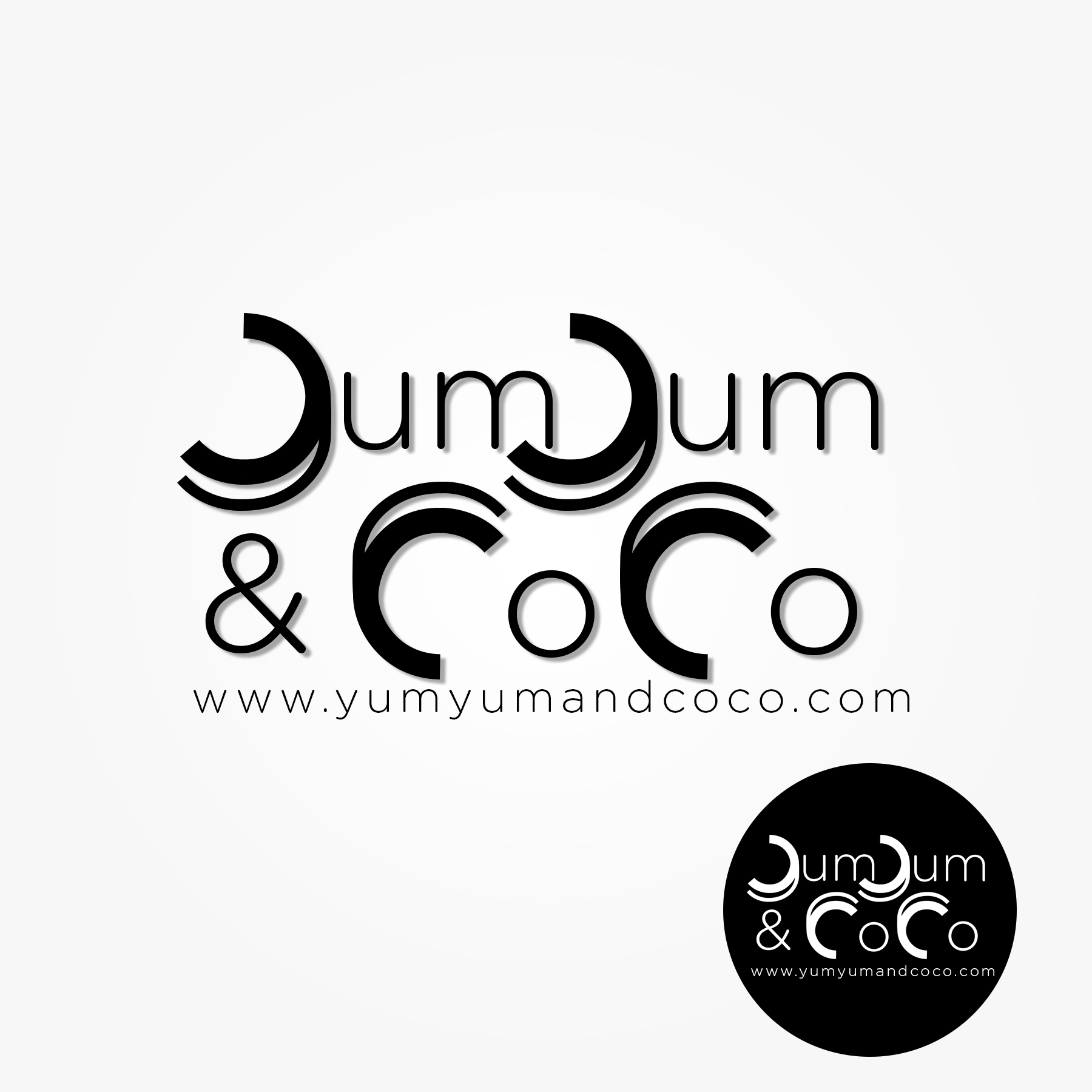 Logo Design by Lemuel Arvin Tanzo - Entry No. 84 in the Logo Design Contest Logo Design for YumYum & CoCo.