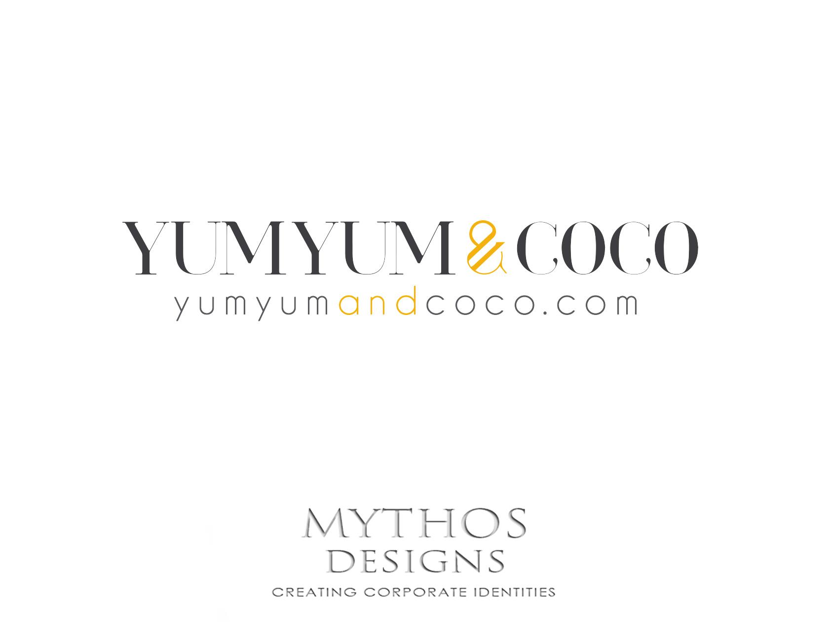 Logo Design by Mythos Designs - Entry No. 92 in the Logo Design Contest Logo Design for YumYum & CoCo.