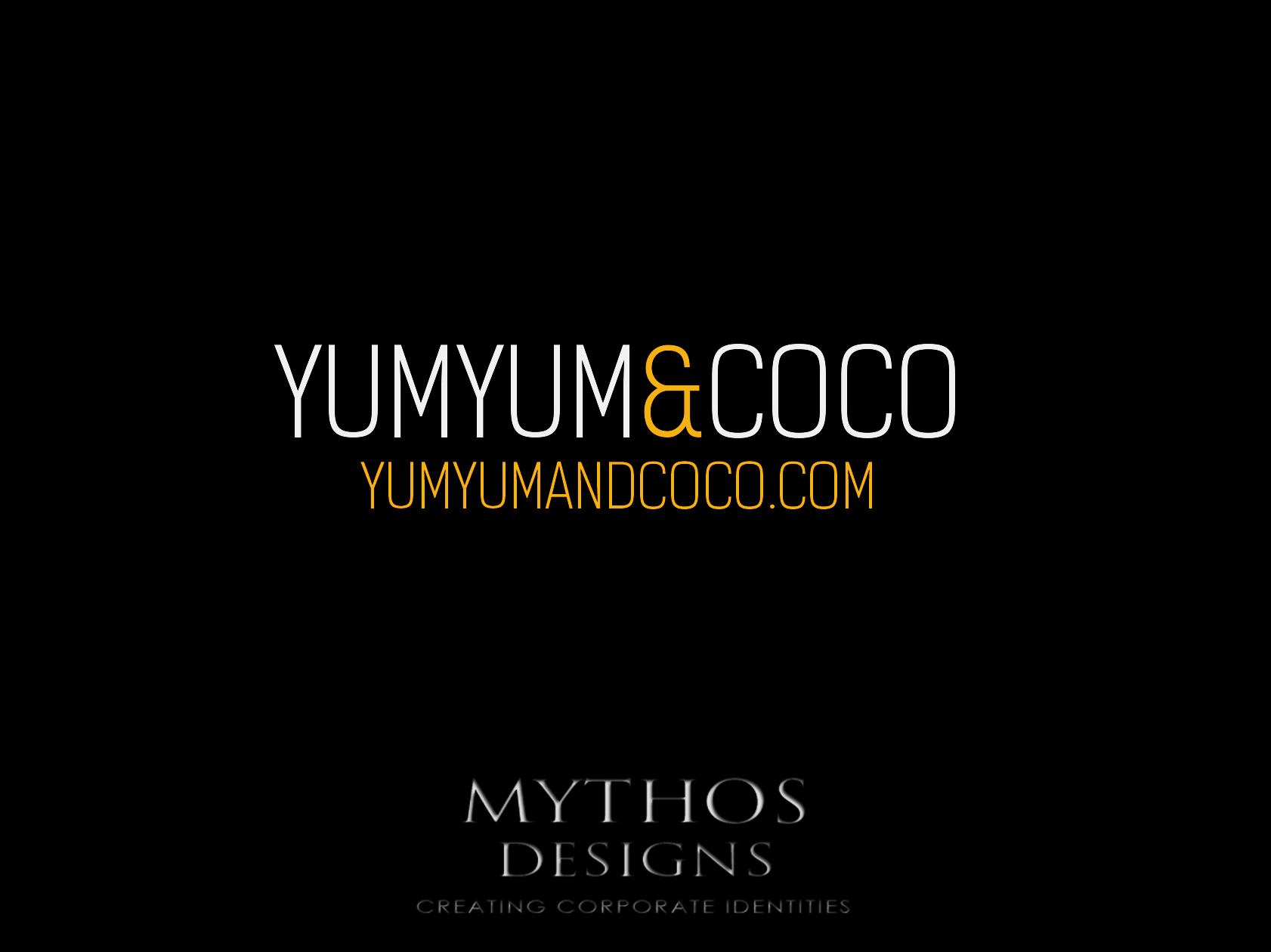 Logo Design by Mythos Designs - Entry No. 100 in the Logo Design Contest Logo Design for YumYum & CoCo.