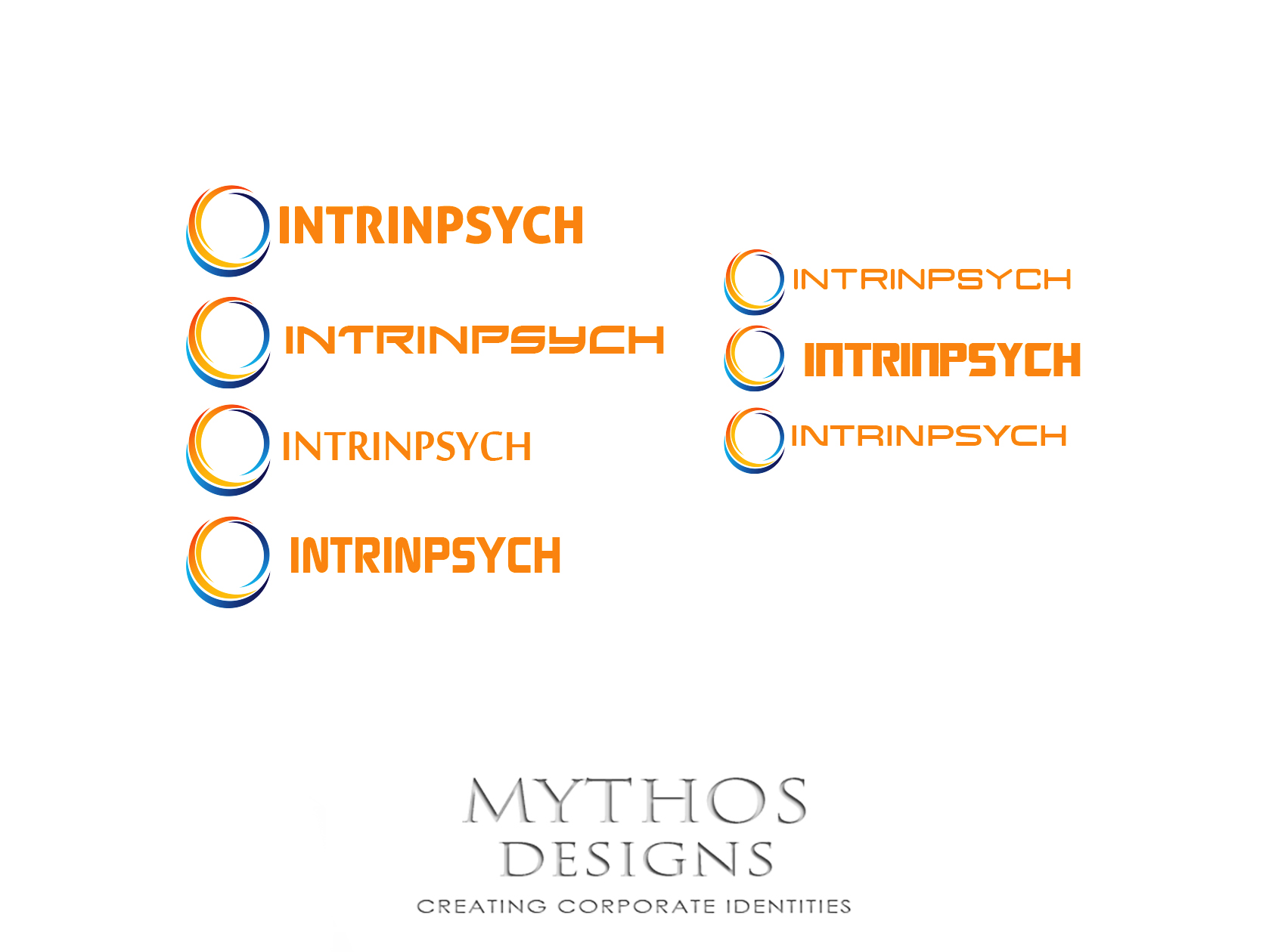 Logo Design by Mythos Designs - Entry No. 106 in the Logo Design Contest New Logo Design for IntrinPsych.