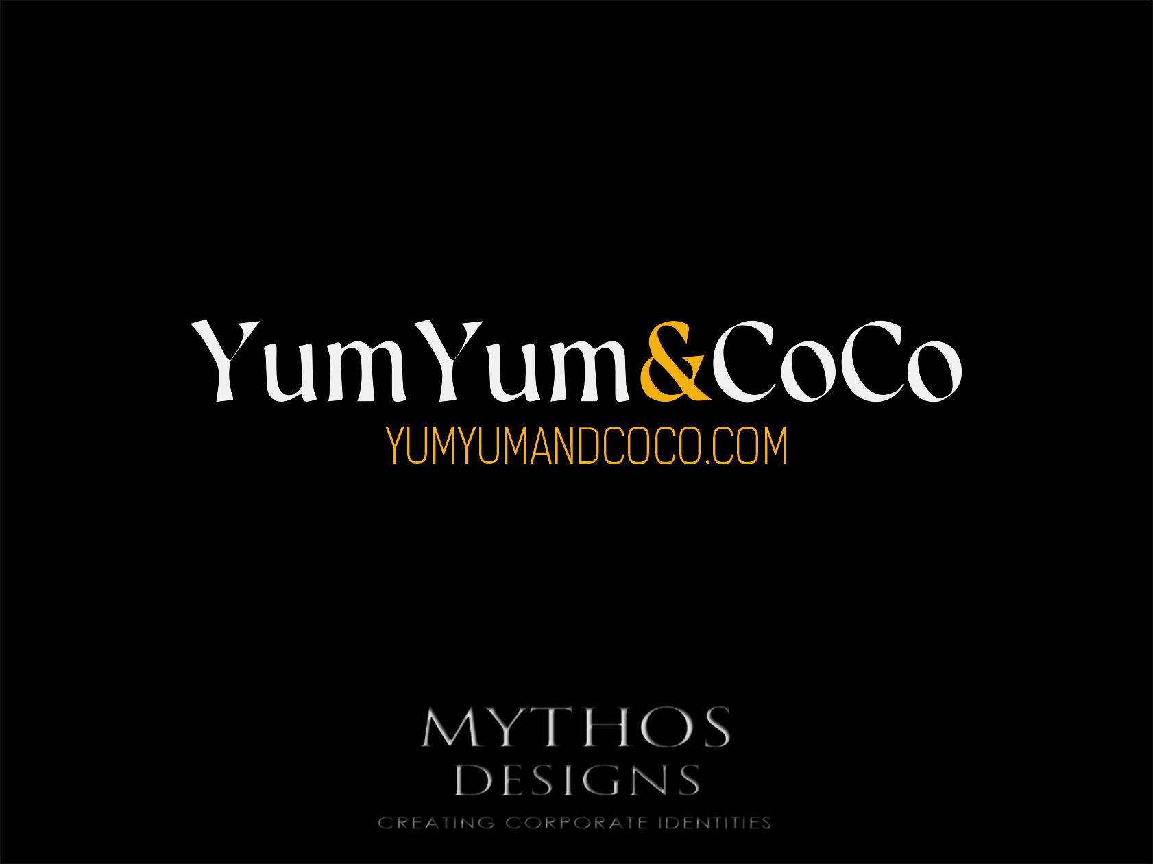 Logo Design by Mythos Designs - Entry No. 104 in the Logo Design Contest Logo Design for YumYum & CoCo.