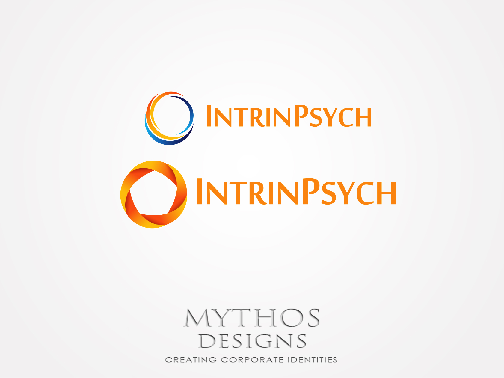 Logo Design by Mythos Designs - Entry No. 107 in the Logo Design Contest New Logo Design for IntrinPsych.