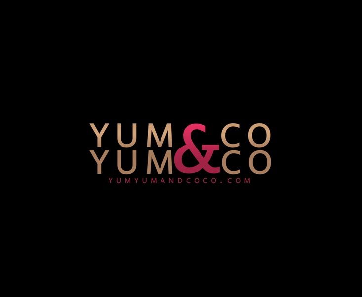 Logo Design by Juan_Kata - Entry No. 120 in the Logo Design Contest Logo Design for YumYum & CoCo.