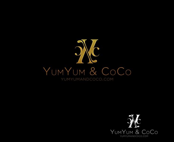 Logo Design by Juan_Kata - Entry No. 122 in the Logo Design Contest Logo Design for YumYum & CoCo.