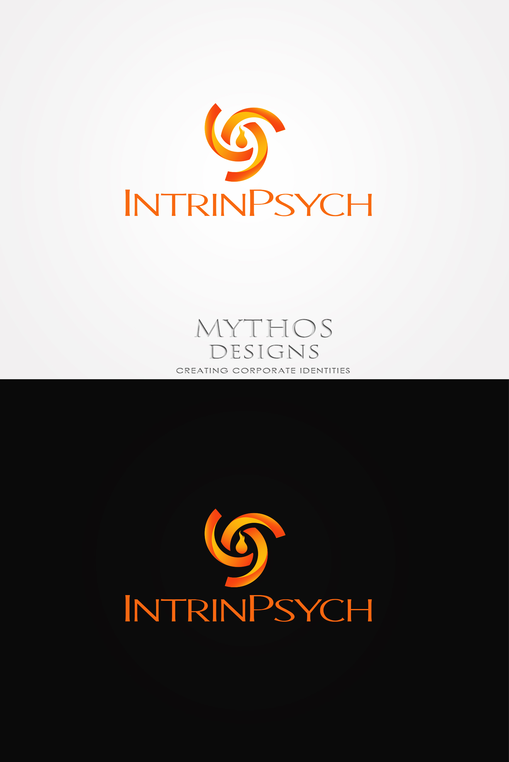 Logo Design by Mythos Designs - Entry No. 114 in the Logo Design Contest New Logo Design for IntrinPsych.