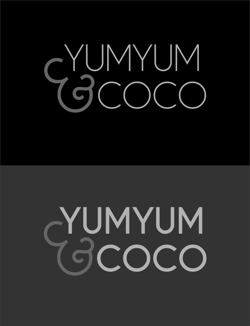 Logo Design by Ngepet_art - Entry No. 123 in the Logo Design Contest Logo Design for YumYum & CoCo.