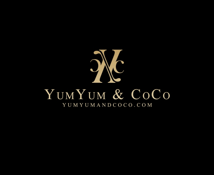 Logo Design by Juan_Kata - Entry No. 125 in the Logo Design Contest Logo Design for YumYum & CoCo.