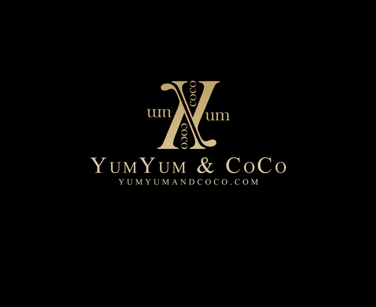 Logo Design by Juan_Kata - Entry No. 126 in the Logo Design Contest Logo Design for YumYum & CoCo.