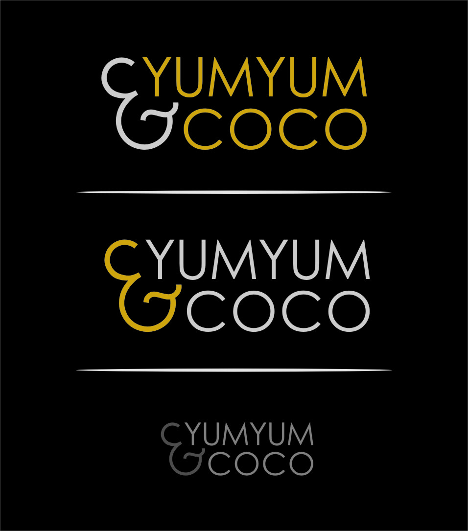 Logo Design by Ngepet_art - Entry No. 128 in the Logo Design Contest Logo Design for YumYum & CoCo.