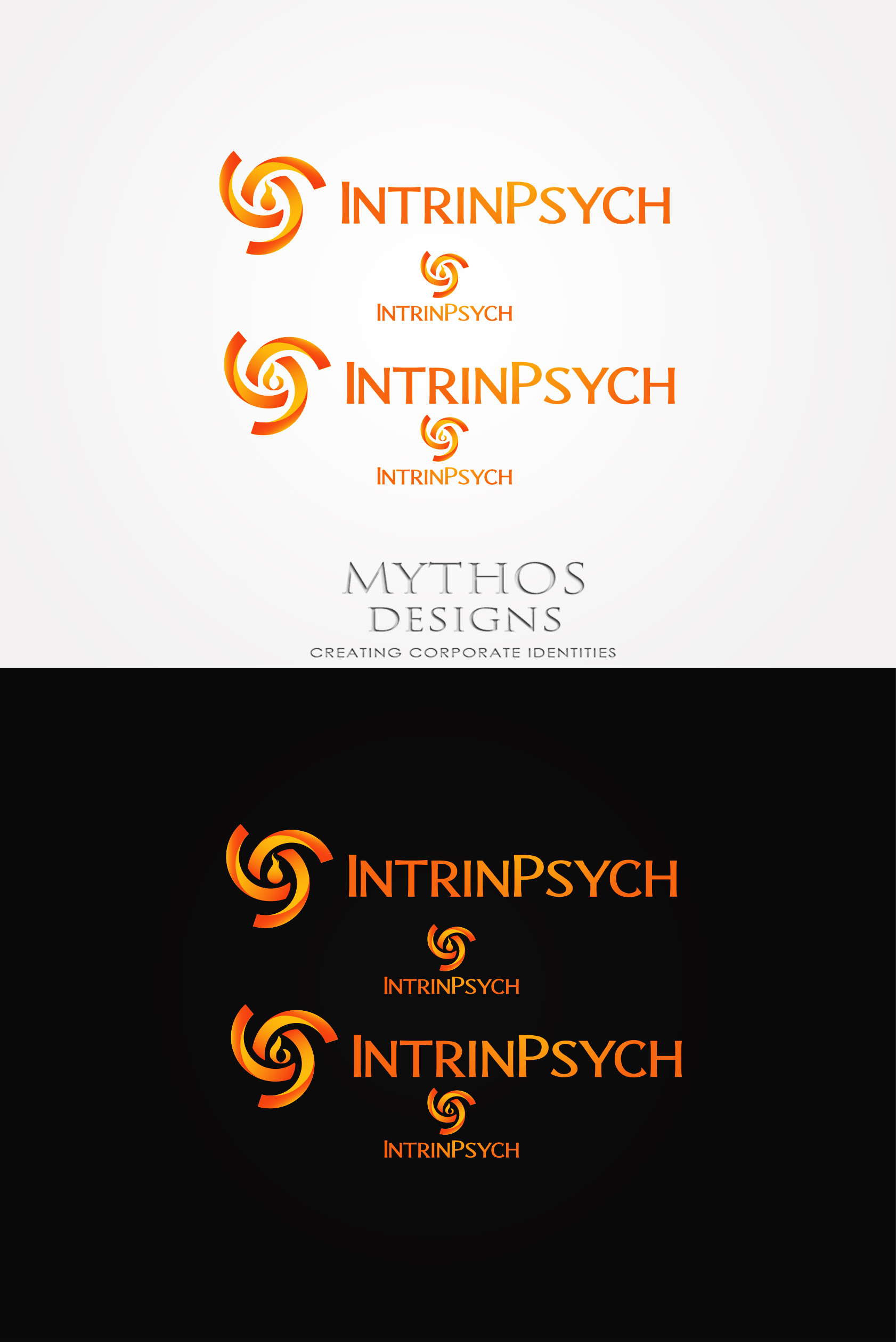 Logo Design by Mythos Designs - Entry No. 121 in the Logo Design Contest New Logo Design for IntrinPsych.