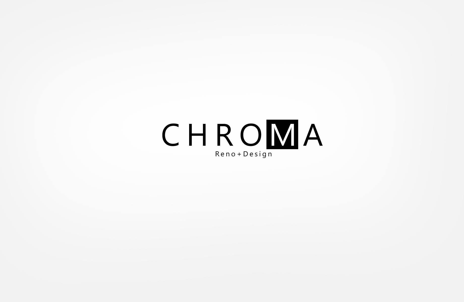 Logo Design by Jan Chua - Entry No. 6 in the Logo Design Contest Inspiring Logo Design for Chroma Reno+Design.