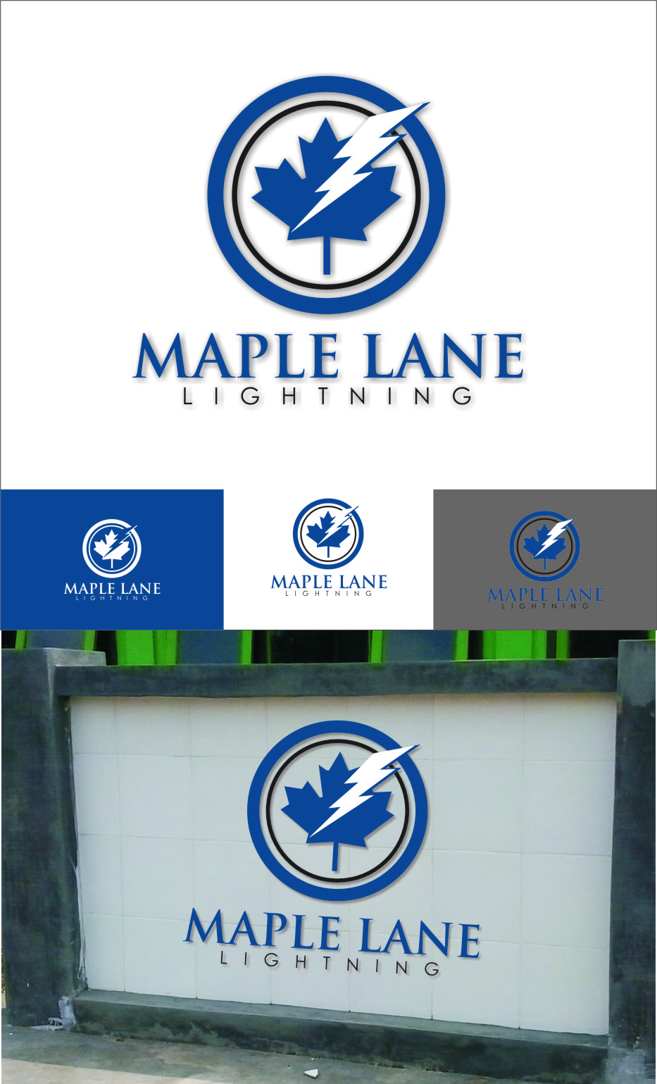 Logo Design by RoSyid Rono-Rene On Java - Entry No. 56 in the Logo Design Contest Maple Lane Logo Design.
