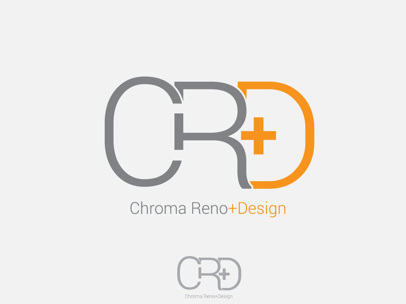 Logo Design by Jerameel Cabautan - Entry No. 8 in the Logo Design Contest Inspiring Logo Design for Chroma Reno+Design.